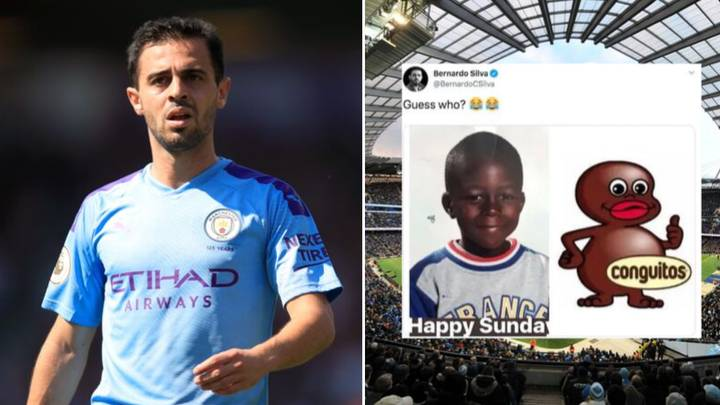 Image result for bernardo silva tweet