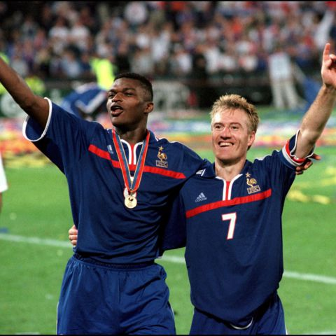 Image result for marcel desailly and didier deschamps