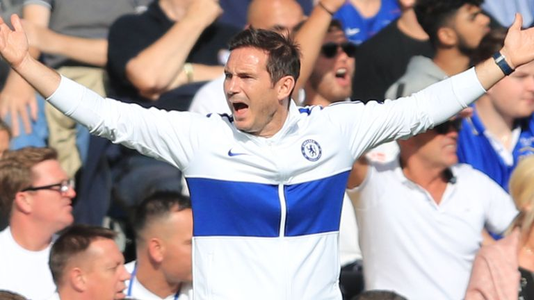 Frank Lampard says tiredness did impact his Chelsea players on Super Sunday
